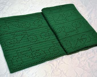 Crochet Blanket Pattern Bicycle Race