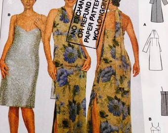 Burda Evening Dress Pattern 8649