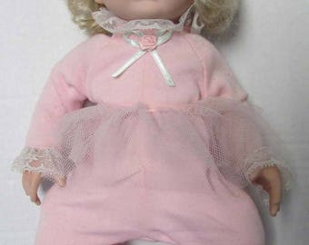 "Vintage Ashton Drake Dianna Effner Doll Sugar Plum 1994 blonde blue eyes 13"" Porcelain KT14765"