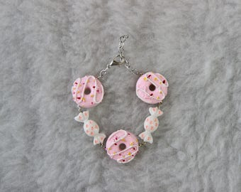 Sweet Lolita Doughnut Bracelet