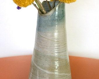 Blue Gray Vase