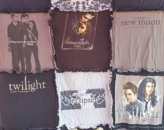 Twilight T-Shirt Blanket