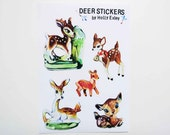 Vintage Deer Stickers