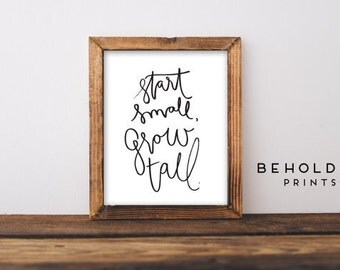 Nursery Wall Art, Quote Prints, Nursery Decor, Wall Prints, Hand Lettered truth, Motivational Quote, Inspirational Quote, Quote art