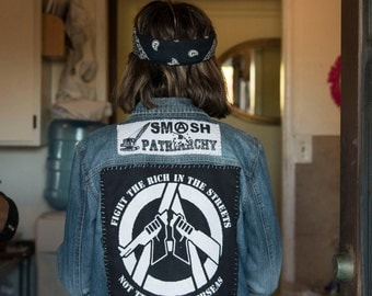 Fight the Rich, Not the Poor BackPatch