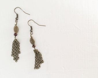 Abide Tassel Earrings