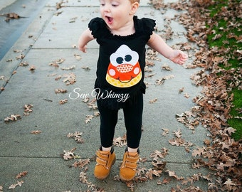 Candy Corn shirt- Halloween shirt