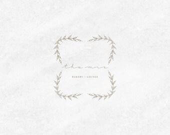 Premade Logo Kit, Bakery, Bakery Logo Design, Organic Logo Design, Custom Logo Branding, Premade Logo, Business Card Design, Logo Watermark