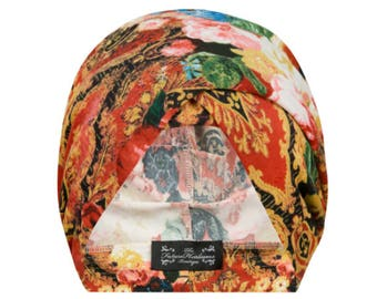Audrey Multiwear Turban in Baroque Floral