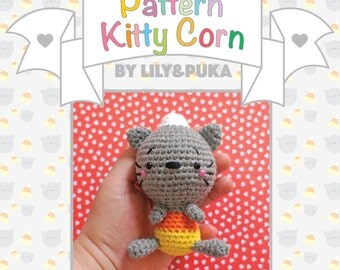 Kitty Corn - crochet amigurumi pattern by lily&puka