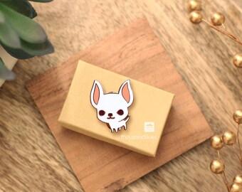 Chihuahua Pin (White Chi)