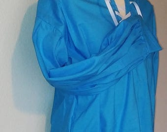 M Adventurer's Tunic in Sky Blue Cotton