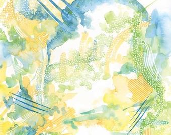 Abstract Watercolour #4 - Original Painting