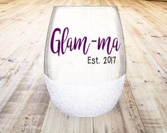 Glam-ma Stemless Wine Glass