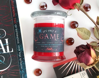 It's Only a Game // Caraval 8oz Jar Candle — Scented Soy Candle