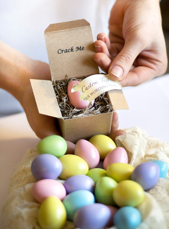 Crack Me Pregnancy Announcement Easter Egg Quail Egg Gender