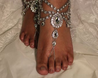 Gold Silver Rhinestone Crystal Beach Bling Beach Wedding Bridal Accessories Bridesmaids Shower Gift Destination  Wedding Boho Bride Dress