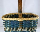 Boy's Easter Basket or Small Ocean Inspired Market Basket