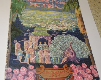 1934 Tournament of Roses Official Program