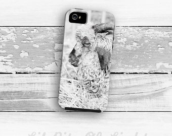 Sheep iPhone 7 Case - iPhone 6s Plus Cover - iPhone 6s Case - Farm Animal iPhone 7 Plus Case - Barn iPhone 6 Plus - Farm 5 iPhone 4/4s Case