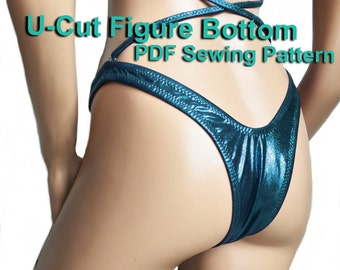 U-Cut Figure Bottom (5 Sizes)