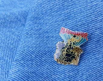 Bad To The Bone Vintage 1981 Mad Max 2 ROAD WARRIOR Lapel Pin Brooch