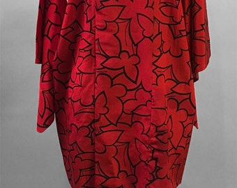 UNIQUE BUTTERFLY Print Kimono / Dress