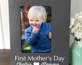 First Mothers Day Frame, First Mothers Day Gift, Mommy and Me Frame, Mother Daughter Frame, Mommy Daughter, Wife Mother's Day Gift, New Mom