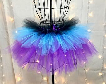 Passion-Fruit Flower Fairy Tutu - Halloween Tutu - Rave Tutu - Available in Infant, Toddlers, Girls, Teenager, Adult and Plus Sizes