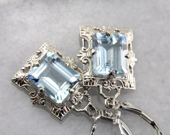 Isabel in Aquamarine and White Gold, from The Elizabeth Henry Collection MAYYC8-P