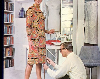 1960's McCall's Answer Book Guide to Carefree Sewing A Must for Retro Sewing Patterns