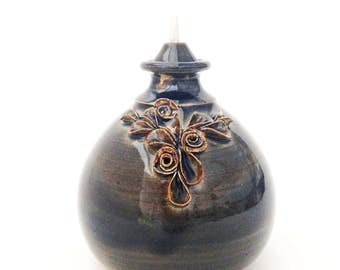 Hand Crafted Ceramic Oil Lamp