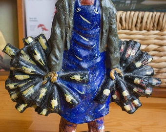 Nectar the Wine Merchant - Handpainted Sculptural Figure - Clay