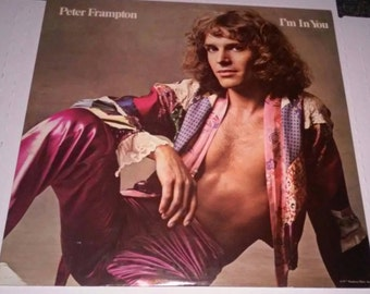1977 Peter Frampton I'm In You Record Free Shipping