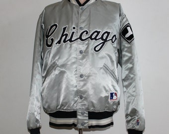 Vintage Chicago White Sox Satin FELCO Jacket M