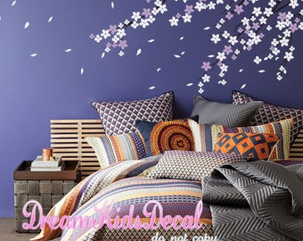 Cherry Blossom Wall Decal, Cherry Blossom Decal, Baby Nursery Wall Decal, Tree  Wall