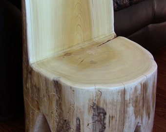 Cedar Stump Chair
