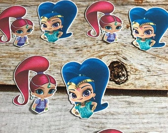 Shimmer and Shine Toppers