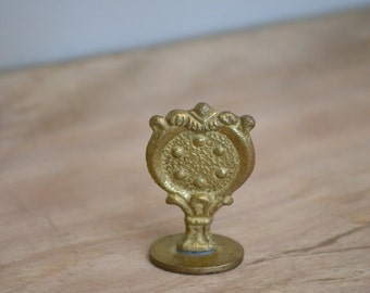 """Vintage Brass Wax Seal of """"SWAK"""" (Sealed With A Kiss) + FREE Shipping"""