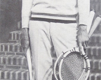 Original 1930's Tennis Great William Bill Tilden II Signed Snapshot Photo - Free Shipping