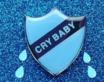 Crybaby Pin Badge