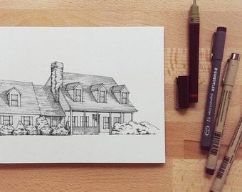 Custom Illustration / Technical Pen