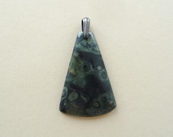 Swirly Kambaba Jasper Natural Stone Pendant