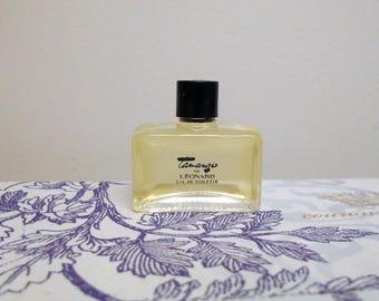 Leonard Tamango eau de toilette. Vintage miniature splash bottle