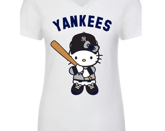 Similar II New York Yankees Hello Kitty T-shirt
