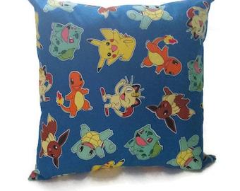 Various Pokemon decorative pillow