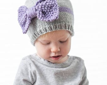 Knitting Pattern Baby Hat 12 Months : Apple Baby Hat KNITTING PATTERN knit hat pattern for babies