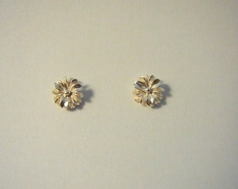 Silver earrings Flore