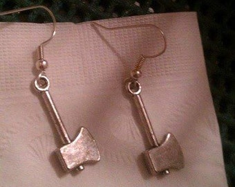 Axe earrings
