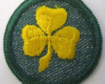 "Vintage Girl Scout Badge-""2nd Class Rank"" ON SALE!"